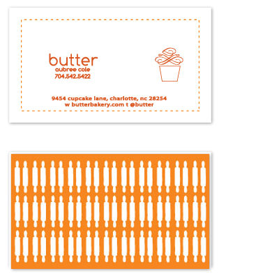 business cards - Butter  by olive paperie