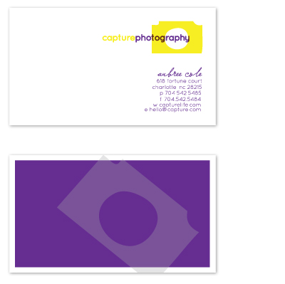 business cards - Capture by olive paperie