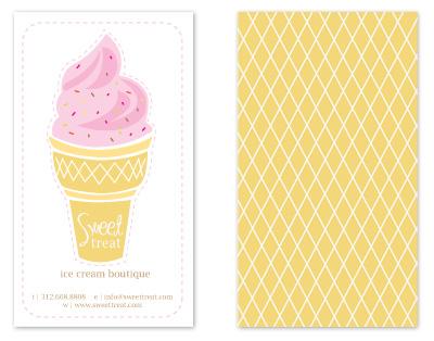business cards - Sweet Treats by Sheila Sunaryo
