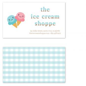 the ice cream shoppe