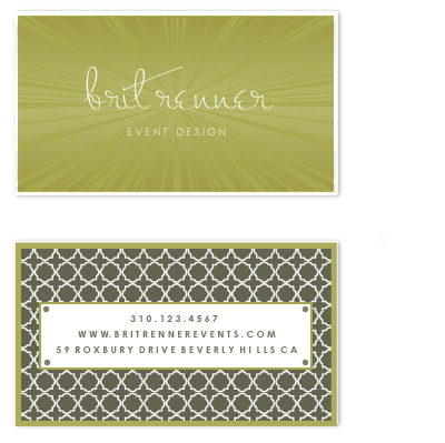 business cards - The Diva by Epitome by Renner Design