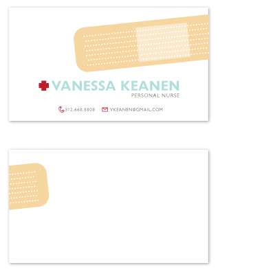 business cards - Band Aid by Sheila Sunaryo