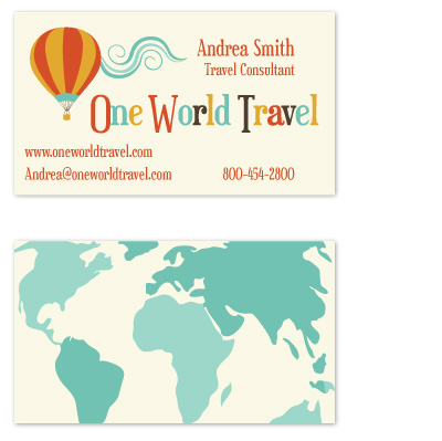 business cards - Off The Beaten Path by Caitlin Lamb