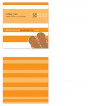 Business Card Beach Hou... by nenita linton