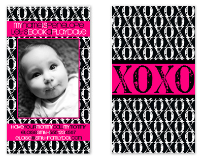 business cards - xoxo playdate by Angela Holden