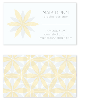 business cards - Sweet and Sleek by rachelle