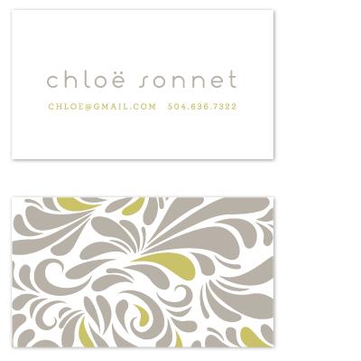 business cards - Swish by Jody Wody