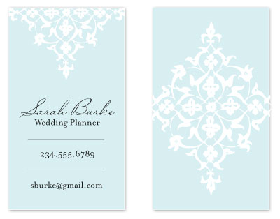 business cards wedding planner by kelly preusser - Wedding Planner Business Cards