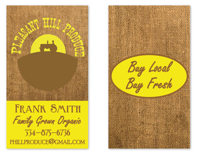 business cards - Local Produce  by Amy Pearson