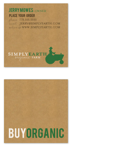 Business cards buy organic farm at minted business cards buy organic farm by sara heilwagen colourmoves