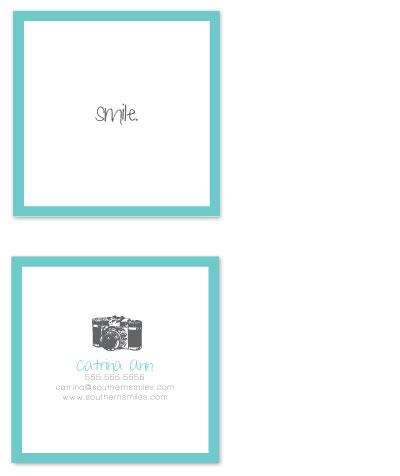 business cards - smile. by Catrina Wojciechowski