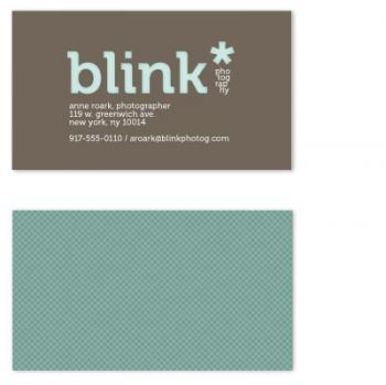 blink letterpress look