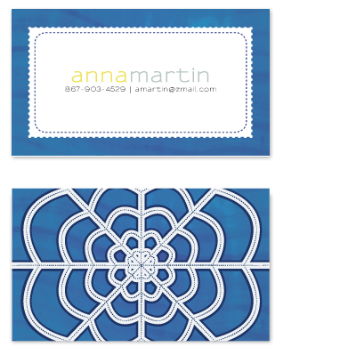 business cards - Sweet Stitch by Laurens