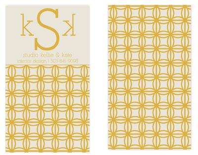 business cards - Vintage Design Studio by l