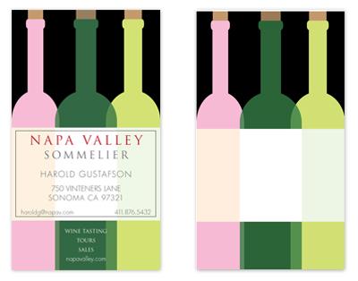 business cards - Vintener's Label by xyz studio