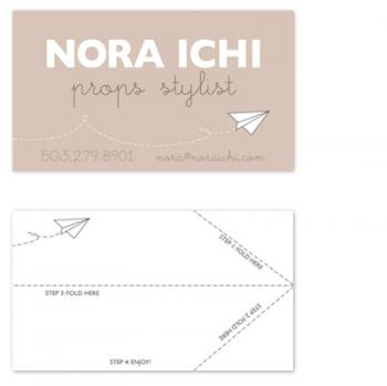 paper planes calling card