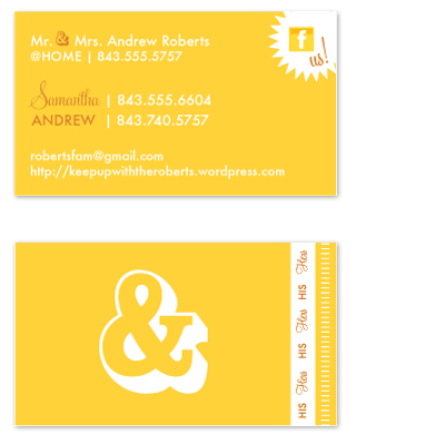 business cards - His & Hers, Of Course by FreeBraveLovely