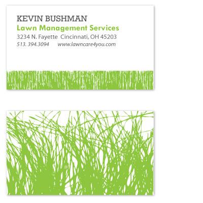 business cards - Lawn Care by Jennifer Langan