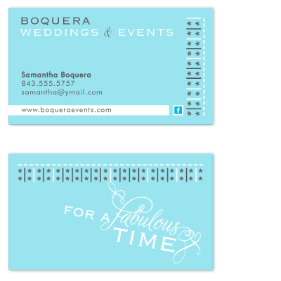 business cards - For A Fabulous Time by FreeBraveLovely