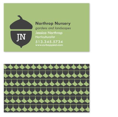 business cards - Plant Something by Jennifer Langan