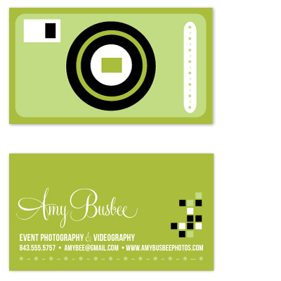 business cards - Oh, Shoot! by FreeBraveLovely