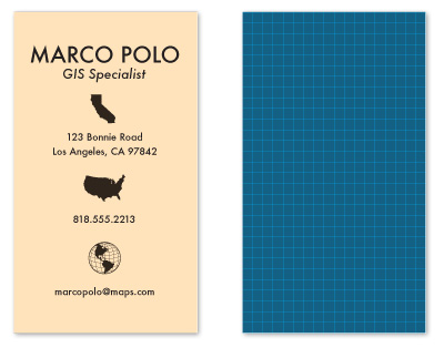 business cards - Marco...Polo by CHOOOW paper goods