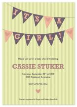 I heart baby showers by We Make Three