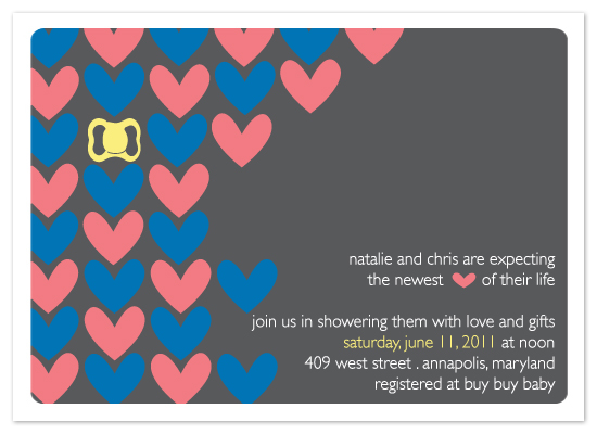 shower invitations - Newest Love of their Life by Preppy Paperie