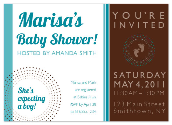 shower invitations - Stylish Mama to Be by carolyncrowndesigns