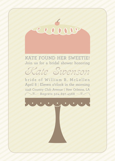 shower invitations - Sweet Shower by mango designs