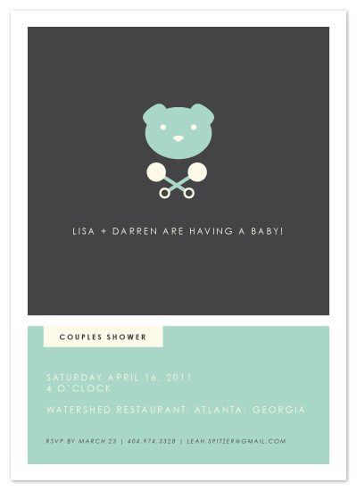 shower invitations  hipster modern baby shower invite at minted, Baby shower