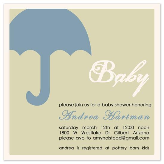 shower invitations - Spring Morning Baby Shower by Amy Jazwinski