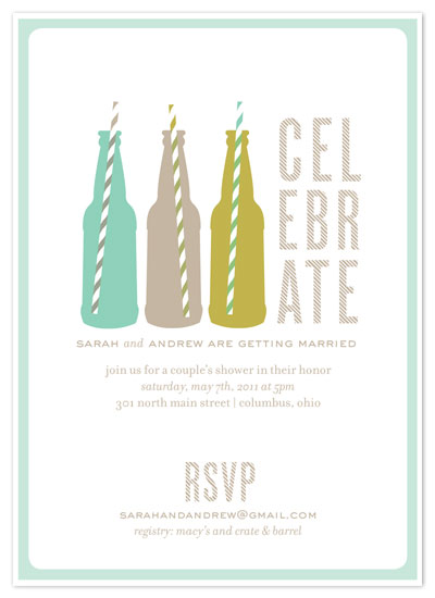 shower invitations - Suds by Cheer Up Press