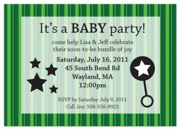 It's a BABY party