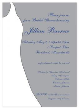 Sterling Silver Bridal Invitations