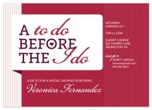 To Do / I Do by J Sherman Studio