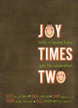 Joy Times TWO by Courtney Warren Come Together Cards