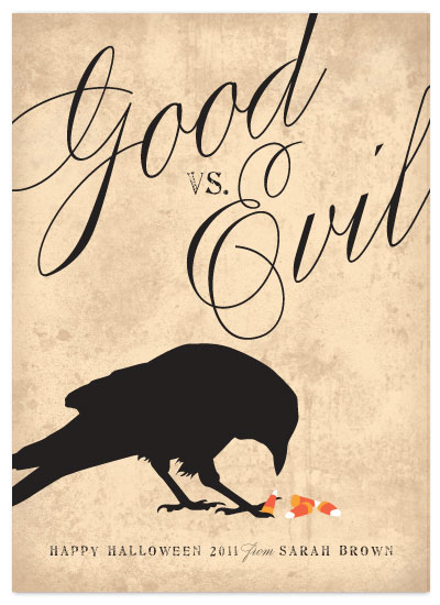 cards - Good vs. Evil by Three Kisses Studio