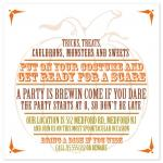 Pumpkin Party Invitatio... by Bridget Collins