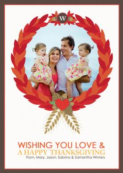 Thanksgiving Family Wreath