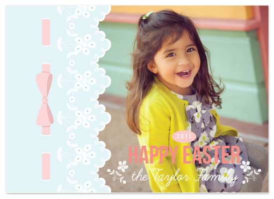 cards - Easter Eyelet by Alisse Catherine