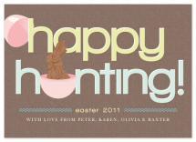 Happy Hunting by Crystal Ku