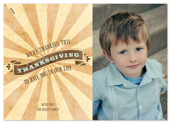 cards - Rustic Thanksgiving by Ashley Foote