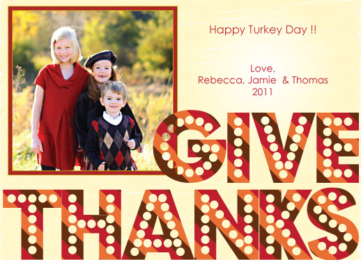 cards - Give Thanks! by Ms. P