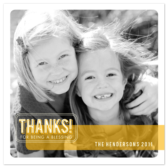 cards - THANKS! for being a blessing by Sarah Knies