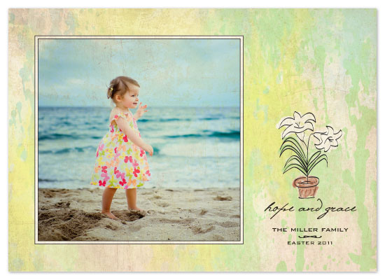 cards - Egg Dyed Easter Lily by b.utiful stationery boutique