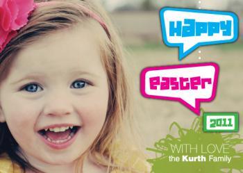 Kids Fun Easter Card