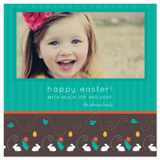 cards - an easter bunny pattern by Zoe Proser