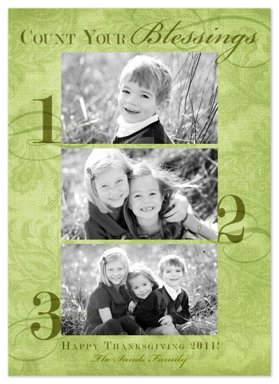 cards - Count Your Blessings by b.utiful stationery boutique