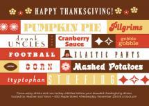 thanksgiving the night... by Heather Ben-Zvi